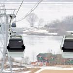 Канатная дорога «Нижний Новгород – Бор» начала работу в тестовом режиме